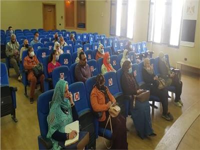 ندوة ضد العنف بالمرأة والتحرش وآثاره السلبية علي المجتمع بالمنيا