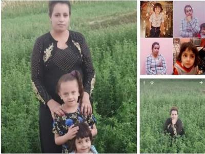 صورة تجمع القتيله مع ابنائها