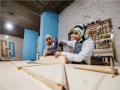 عظيمات مصر يقتحمن الأعمال الشاقة