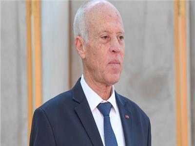 الرئيس عبد الفتاح السيسي مع نظيره التونسي قيس سعيد