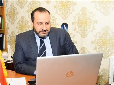صابر سليمان مساعد وزيرة الهجرة