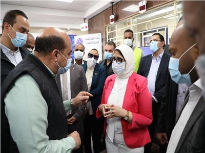 وزيرةالصحة توجه رسالة إلى أهالي أسوان
