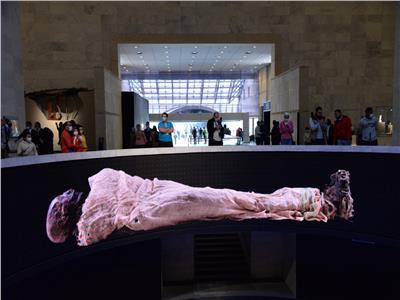 صورة من متحف الحضارة