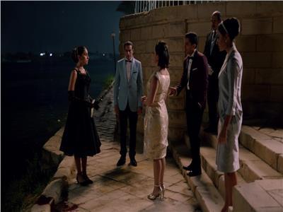 لقطة  من مسلسل قصر النيل