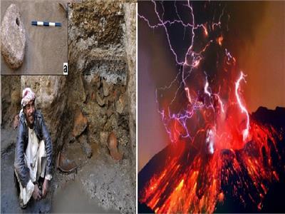الانفجار البركاني ومدينة برنيس القديمة