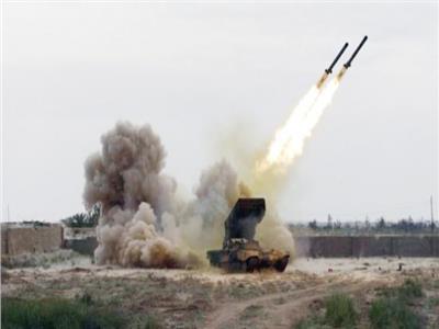صورة أرشيفية لهجمات صاروخية حوثية على السعودية