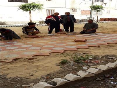 شباب حى الزهور بأبو حمص