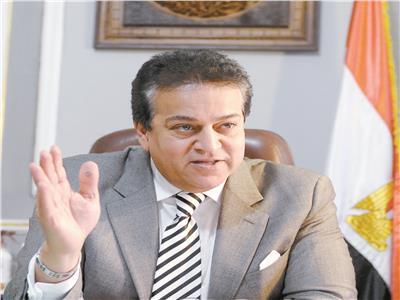 د.خالد عبدالغفار وزير التعليم العالى