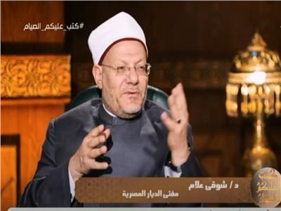 الدكتور شوقي علاممفتي الجمهورية