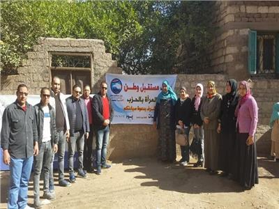 قافلة مستقبل وطن الطبية بقرية السنبلاوين