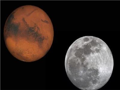 اقتران القمر بالمريخ