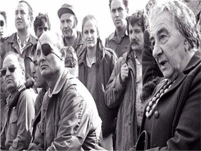 قادة إسرائيل المهزومين خلال حرب أكتوبر