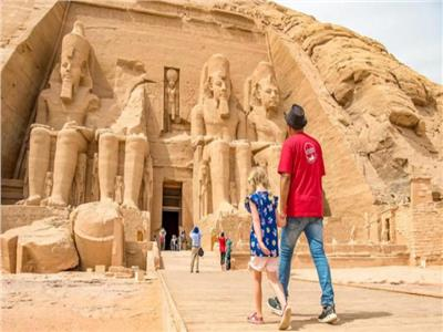 صورة ارشيفية  للسياحة في مصر