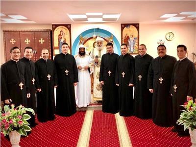 نيافة الأنبا ميخائيل الأسقف العام لقطاع كنائس حدائق القبة
