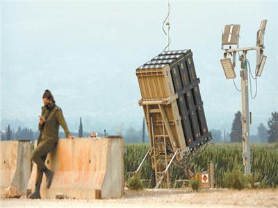 بطارية دفاع صاروخية فى منطقة مفاعل ديمونة