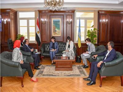 محافظ الإسكندرية يبحث تدعيم التعاون مع الممثل المقيم للأمم المتحدة