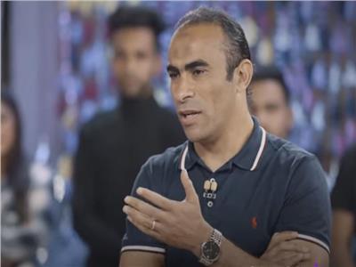 الكابتن سيد عبدالحفيظ مدير الكرة بالنادي الأهلي