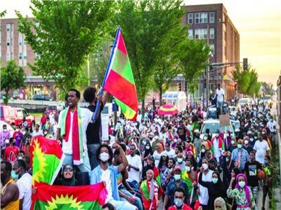 مظاهرات إثيوبيا