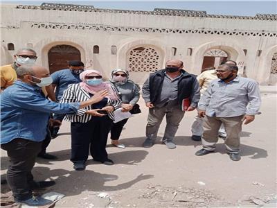 التشغيل الفعلى لاول فرن فخار صديق للبيئة بقرية الفواخير بمدينة الفسطاط