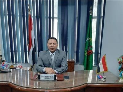 صحة المنوفية فى اسبوع  توريد ١١ ألف لتر أكسجين لمستشفى حميات منوف