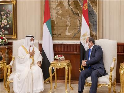 الرئيس السيسي ومحمد بن زايد
