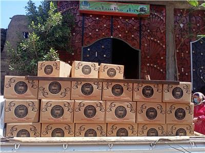 جامعة طنطا توزع 300 كرتونة مواد غذائية للأسر الأكثر احتياجاً بقرى زفتى