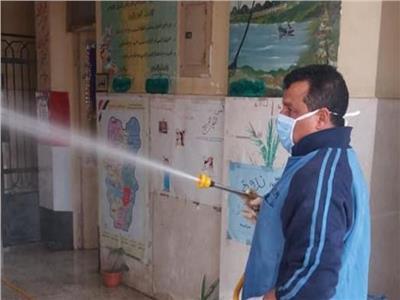 تحرير 94 محضر متنوع وتطهير المساجد و المصالح الحكوميه بالمحلة