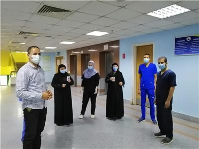 صحه سوهاج :تعافي ٤١ حاله من فيروس كورونا بمستشفيات العزل