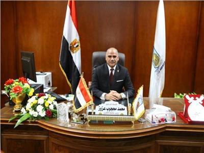محمد محجوب عزوز رئيس جامعة الأقصر