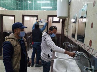 تركيب قطع موفرة للمياه بالمساجد