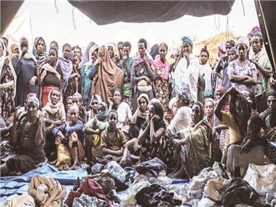 سكان تيجراي يعيشون فى ظروف صعبة