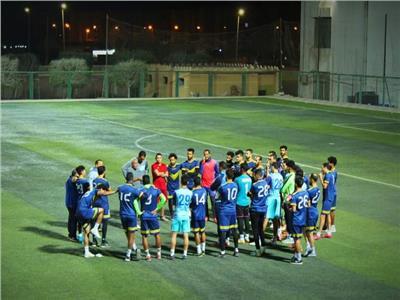 الفريق الأول لكرة القدم بنادي المنيا