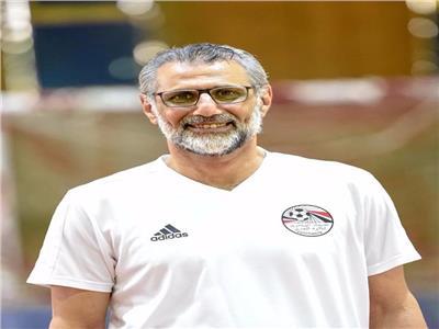 هشام صالح المدير الفني للمنتخب الوطني لكرة الصالات