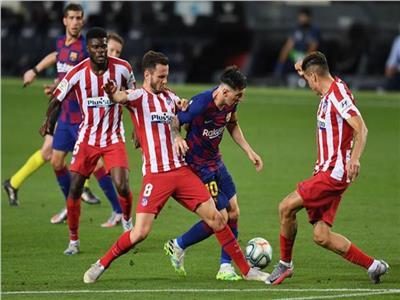 برشلونةوأتلتيكو مدريد