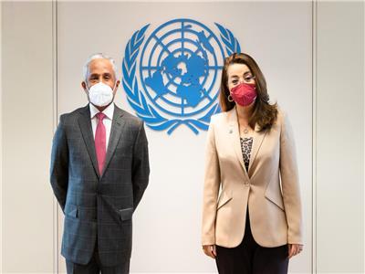 غادة والى المدير التنفيذي لمكتب الأمم المتحدة