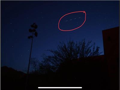شاهد صورة حطام الصاروخ الصيني قبل سقوطه