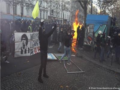 احتجاجات في فرنسا ضد مشروع قانون بيئي