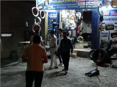تحرير 27 محضر مخالفة لقرار مواعيد الغلق و 15 محضر عدم إرتداء الكمامة بكفر الدوار