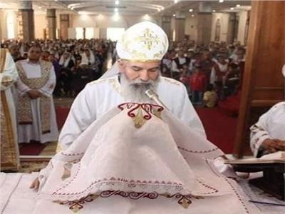 القمص أليشع نصري كاهن كنيسة الشهيد مار جرجس