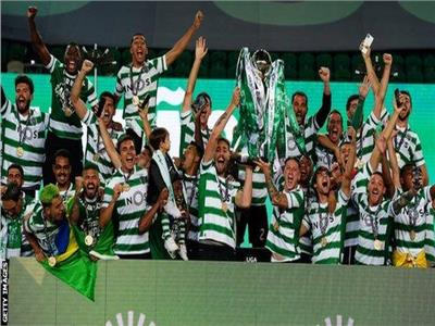 سبورتينج لشبونة بطلا للدوري البرتغالي