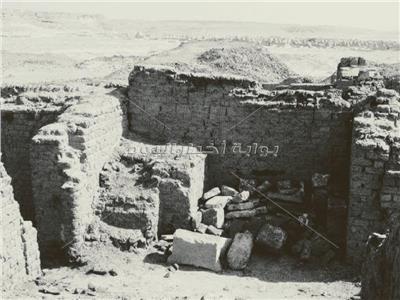 آثار منزل السيدة مارية القبطية في المنيا
