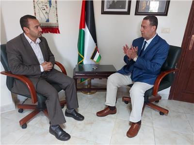 السفير الفلسطيني خلال حواره مع بوابة أخبار اليوم