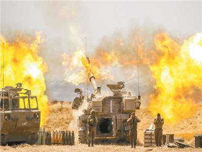 المدفعية الإسرائيلية تقصف قطاع غزة