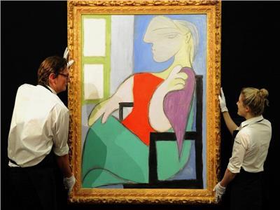 «المرأة الجالسة » .. اللوحة الخامسة التي تم بيعها لبيكاسو بمبلغ ١٠٣ مليون دولار