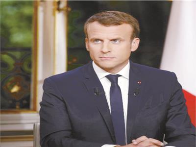 الرئيس الفرنسى ماكرون