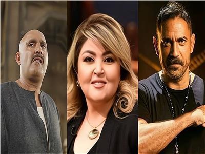 مها أحمد وأمير كرارة وأحمد السقا