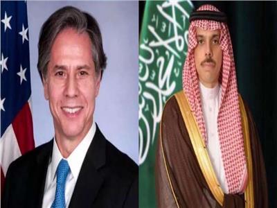 وزيرا الخارجية السعودي والأمريكي
