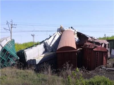 حادث قطار شحن