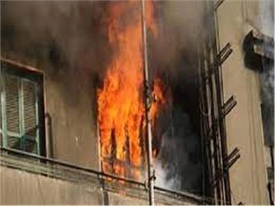 تفحم شقة سكنية