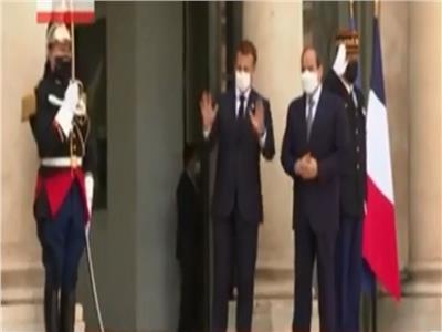 الرئيس السيسي يصل قصرالإليزيه للمشاركة في قمة تمويل الاقتصاديات الأفريقية